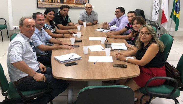 Reunião FAEXP, SEPROR e ACBA para celebrar convênio