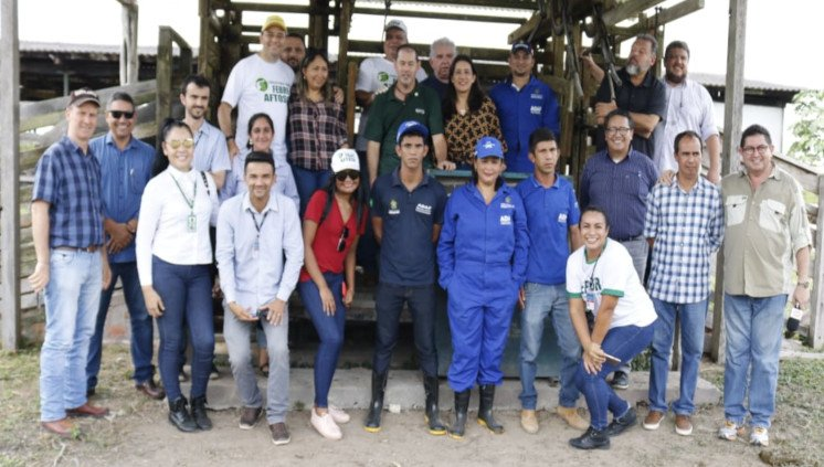 Reunião sobre vinda de bubalinos da Embrapa Amazônia Oriental